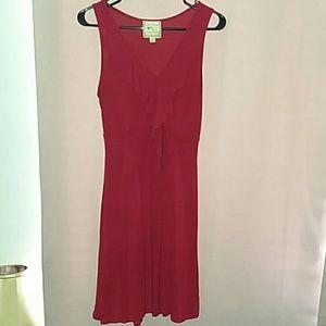 Pink Rose sleeveless dress-small